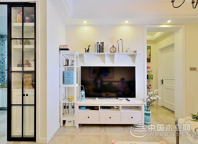 20张通俗客厅电视背景墙,很实用