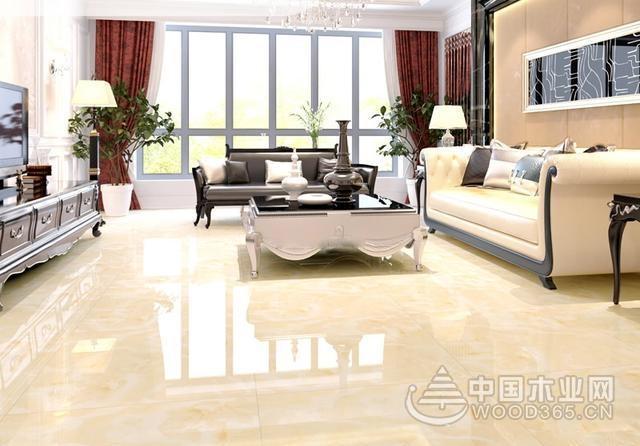 10款客厅地板砖效果图,与家居风格完美搭配