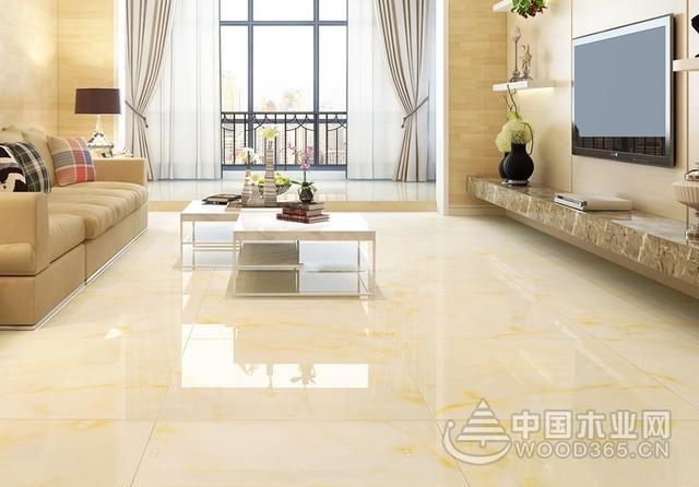 10款客厅地板砖效果图,与家居风格完美搭配图片