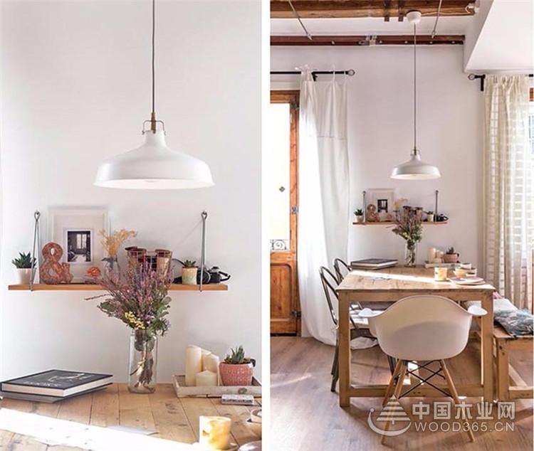 简约自然风公寓,52平米一居室小户型装修图
