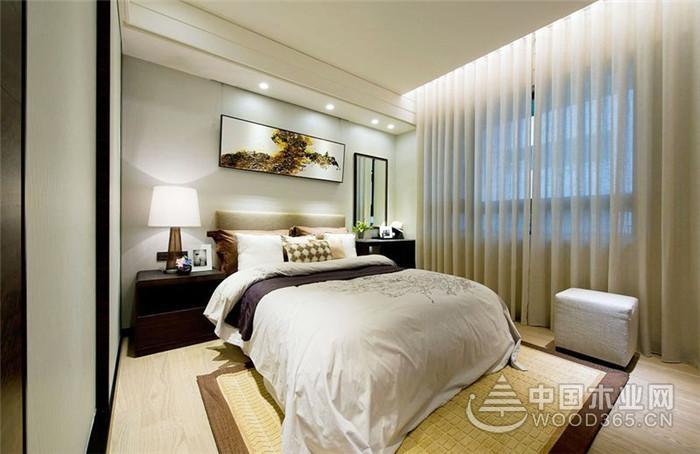 水墨加持下的新中式,122平米三室两厅装修效果图