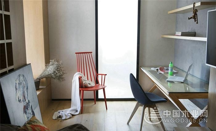 光与影竞逐,90平米简约两房装修效果图