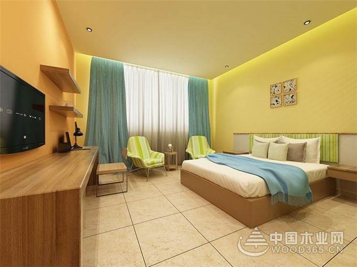 7款宾馆客房装修效果图