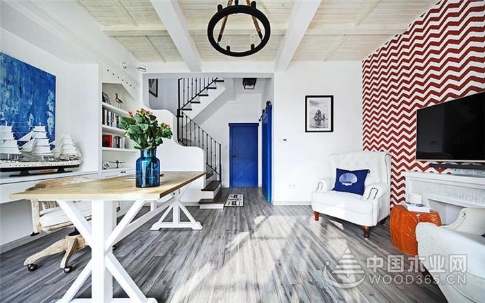 三室里的地中海风格,144平米三室两厅装修效果图