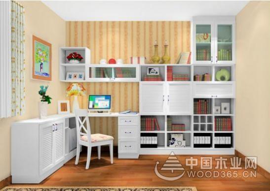 卧室书桌书柜装修效果图大全