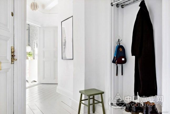 复古田园北欧公寓,88平米两房两厅装修效果图