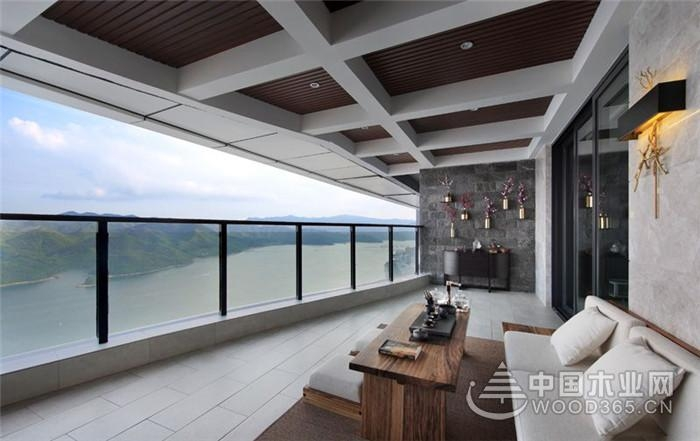 混搭风装修,120平米三室两厅装修效果图