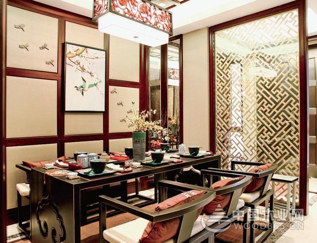 19款新中式餐厅搭配,让你吃饭都有诗情画意!