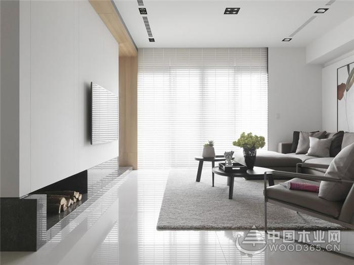 北欧风公寓,120平米三室两厅装修效果图
