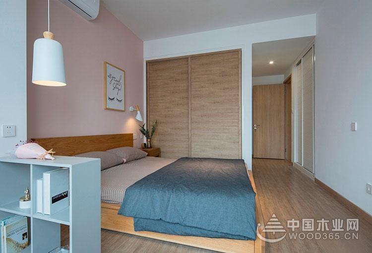 温暖小幸福,110平米现代简约风格三室两厅装修效果图