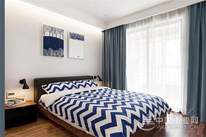 宜家家居风格,130平米三室两厅装修效果图