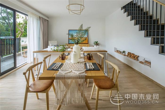 浪漫三房,106平米波西米亚风格三室两厅装修效果图