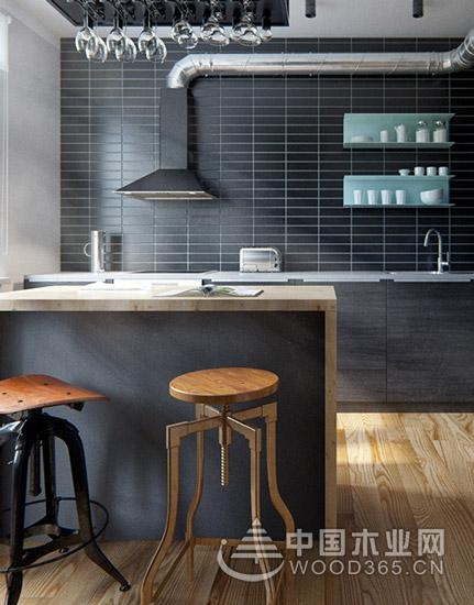 13款木质家庭吧台装修效果图