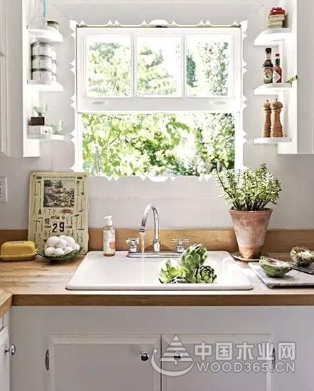 13个厨房窗户装修效果图