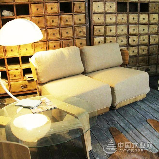 给客厅增添一点浪漫,14款客厅双人沙发床效果图