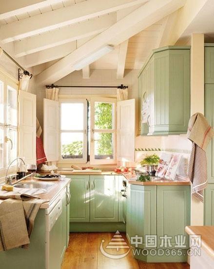 与阳光一起下厨,12款阳台厨房装修效果图