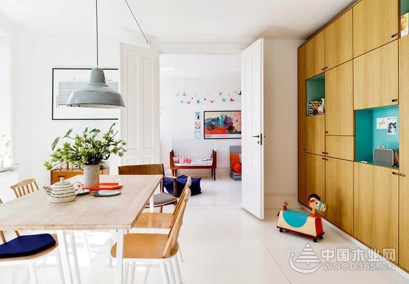 法式浪漫遇到北欧简洁,110平米两房两厅装修效果图图片