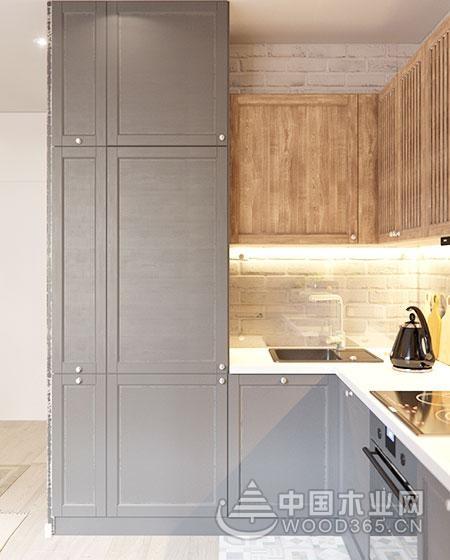 小空间的大魅力,50平米超小户型公寓装修设计效果图