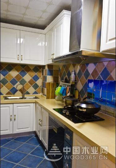 20款厨房瓷砖搭配效果图,各有风格