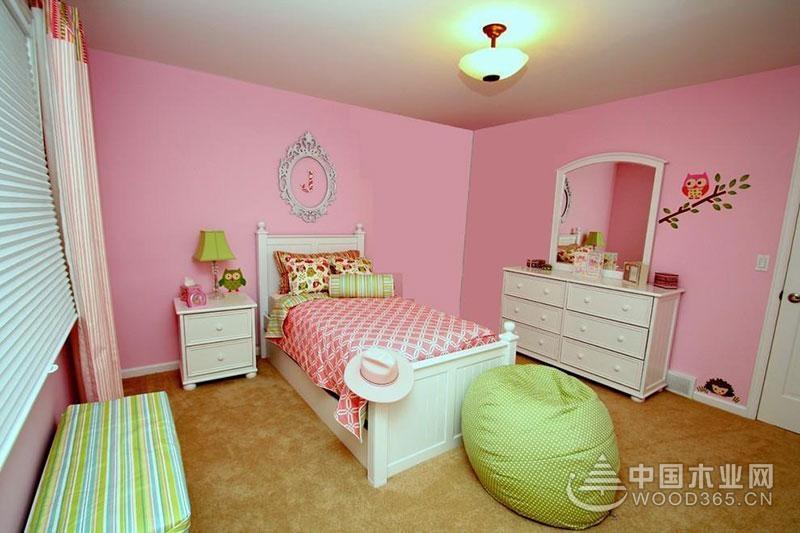 13款粉红色家居卧室装修效果图 浪漫温馨