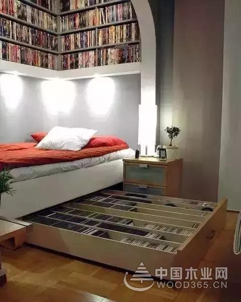 12款日式小户型卧室榻榻米床装修效果图