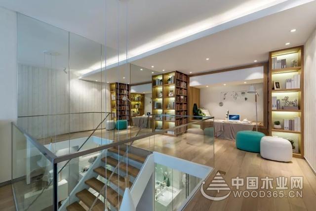 60平米现代小复式楼梯装修效果图