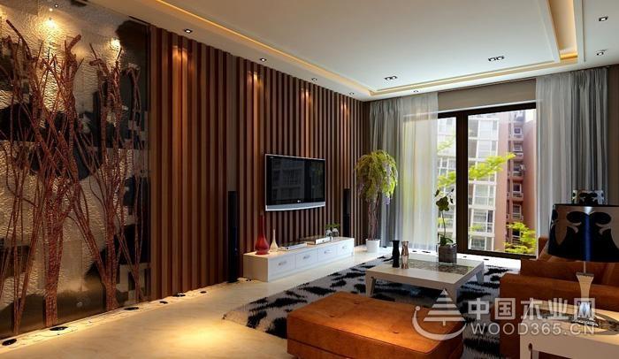 12款现代简约电视背景墙,这样装简单大气