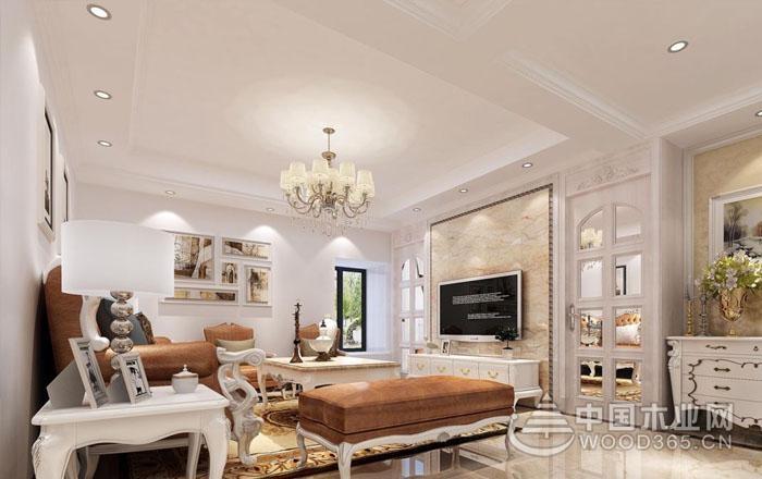 12款简欧电视背景墙效果图,给客厅增彩