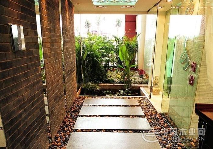 室内进门入户花园设计,8款入户花园装修效果图