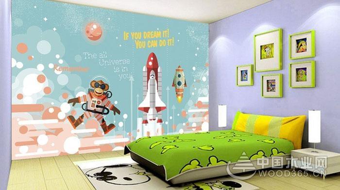 8款儿童房手绘墙图片,哪一款是孩子的最爱呢