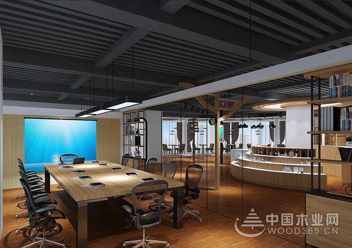 12款舒适办公室设计装修效果图,提高员工办公效率