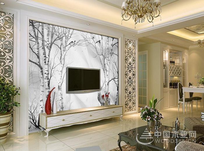 10款手绘电视墙效果图,看过才知道