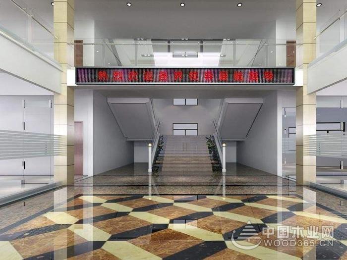 8款办公楼大厅效果图