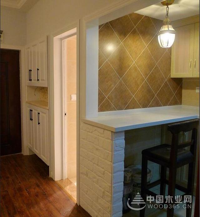 47平米一室一厅装修效果图