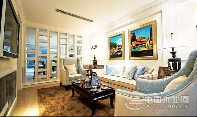 客厅玻璃隔断效果图, 14图兼具实用与美感