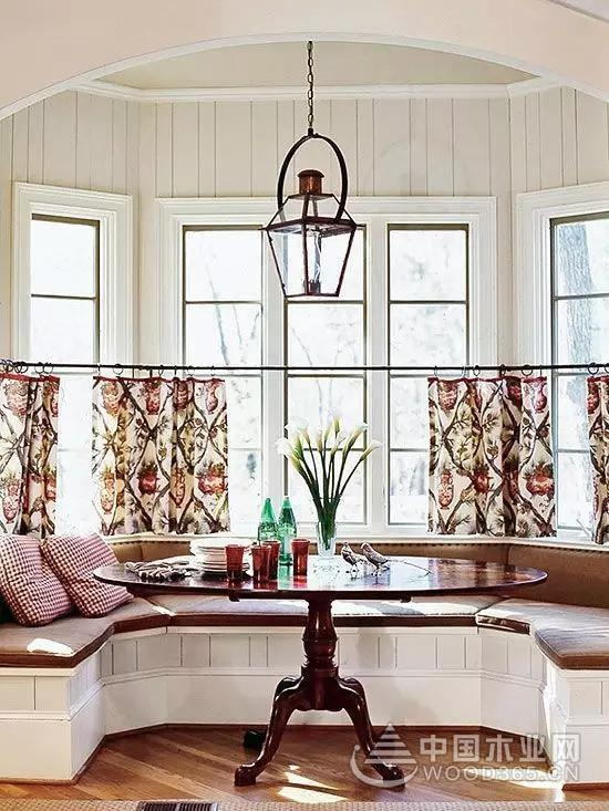 20款飘窗窗帘效果图,轻松解决飘窗设计!