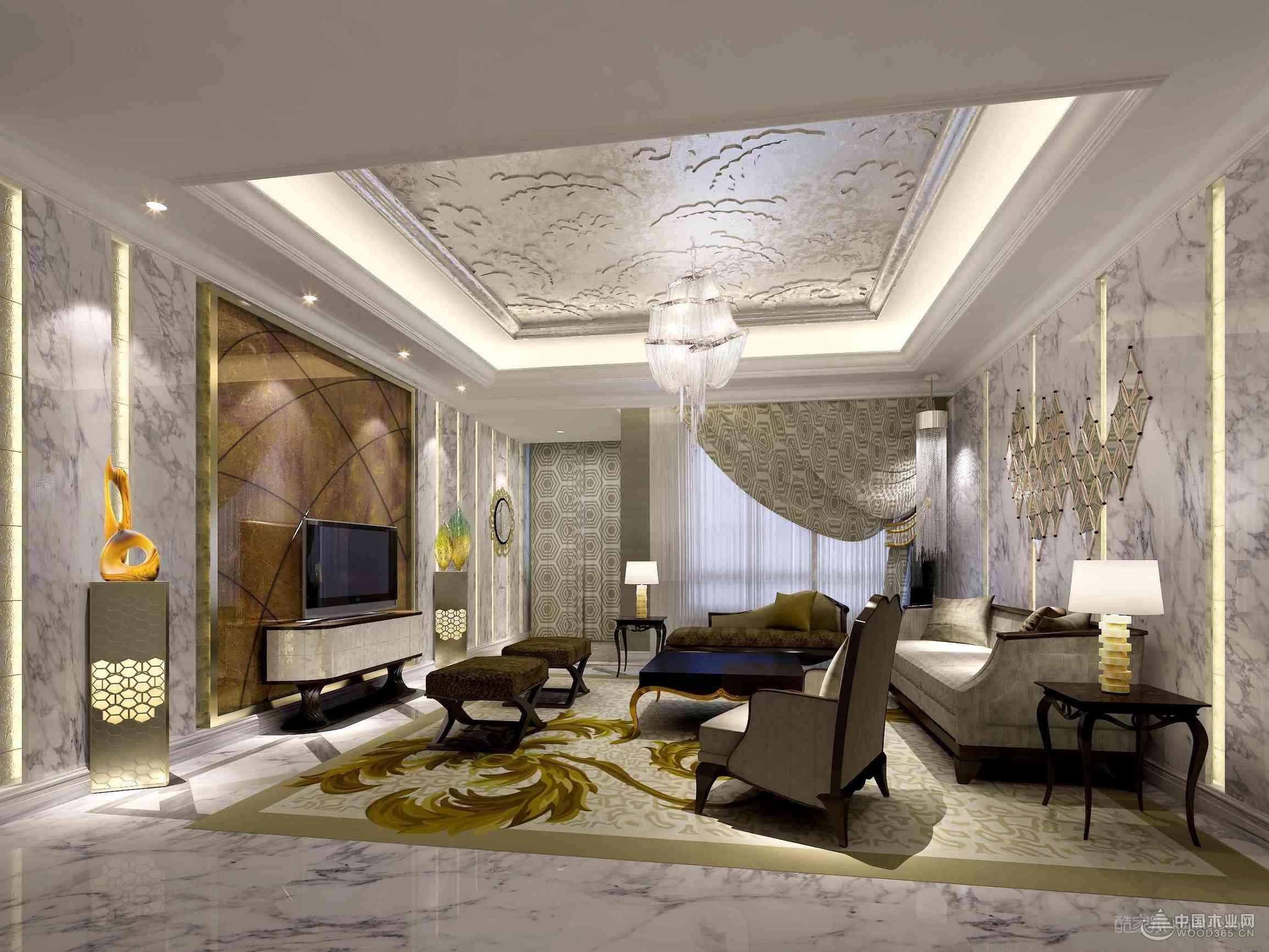 15张欧式客厅设计图片展示