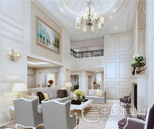 欧式家装设计效果图,打造豪华气派的欧式别墅