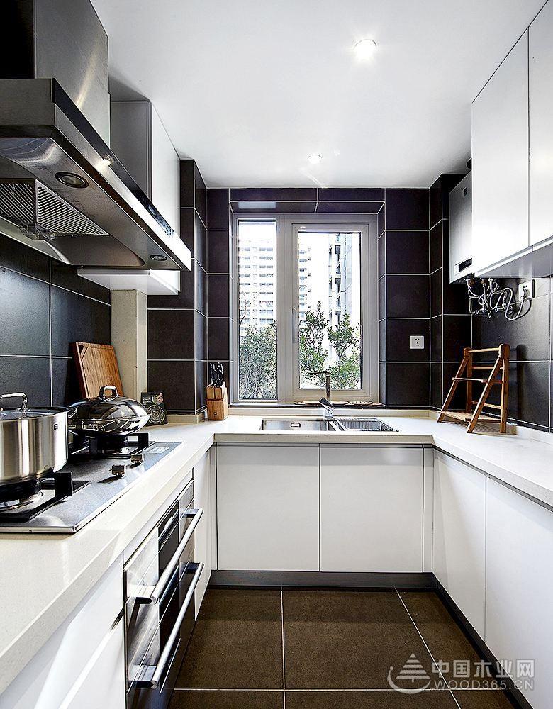 18个U型小厨房装修效果图