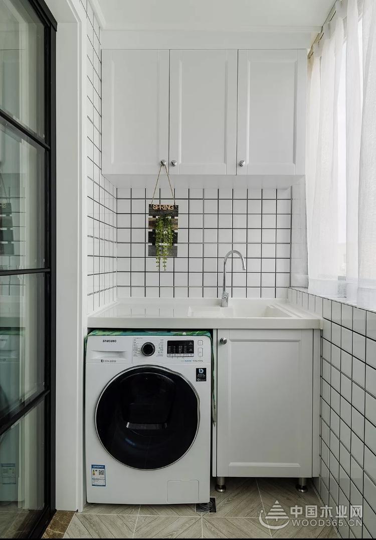 14款洗衣服阳台效果图