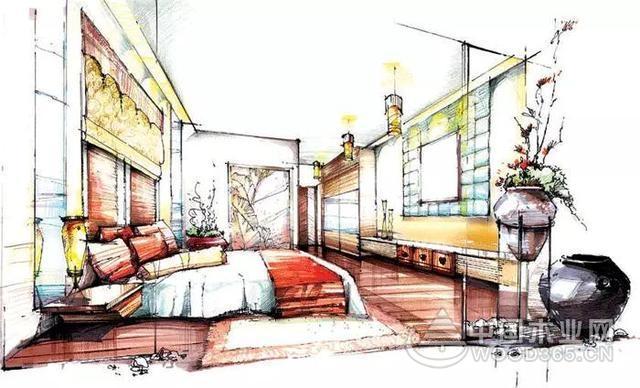室内手绘效果图欣赏