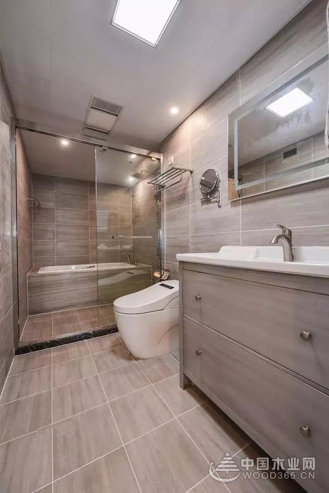 自然舒适,165平米现代简约风格装修图片-中国木业网