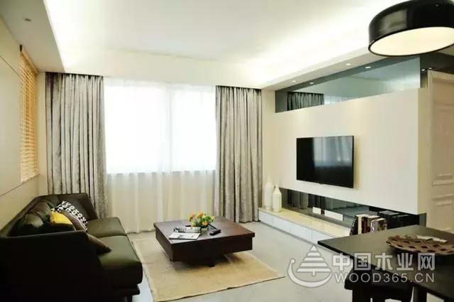 80平米两居室装修效果图 简单却舒适