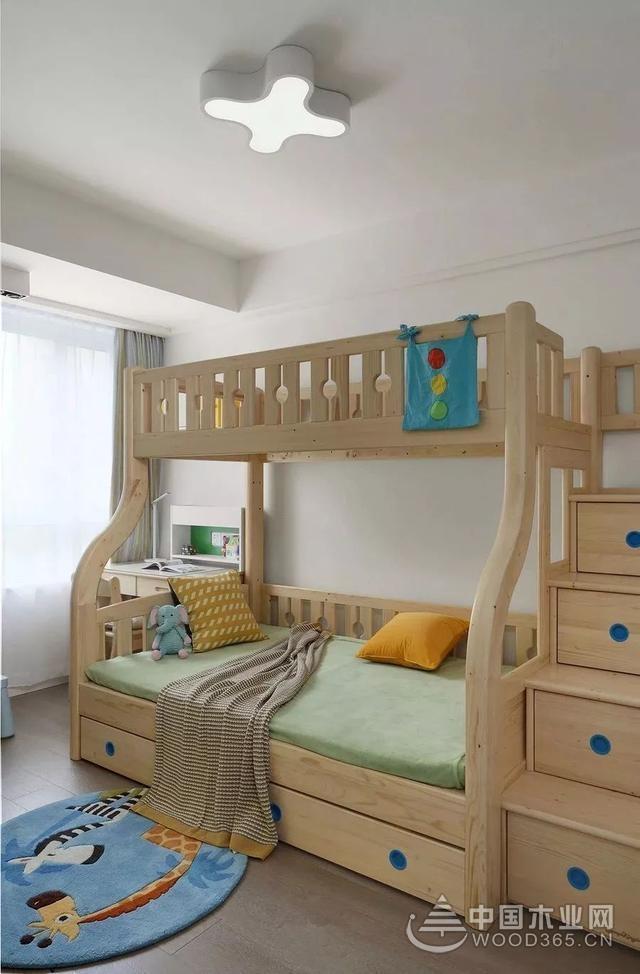 简约北欧家居,100平米两房一厅装修效果图