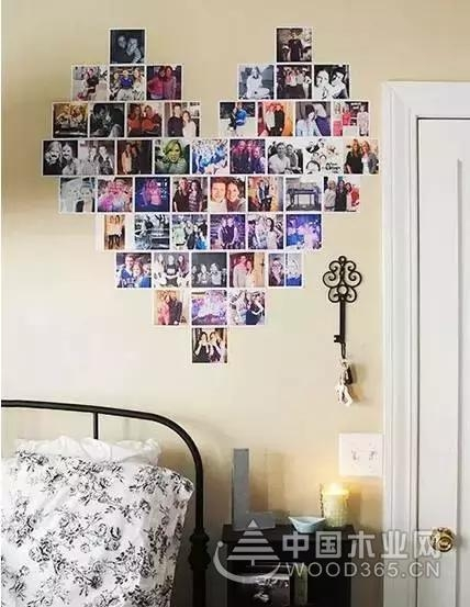 11张照片墙效果图集锦,这样摆才最惹眼!