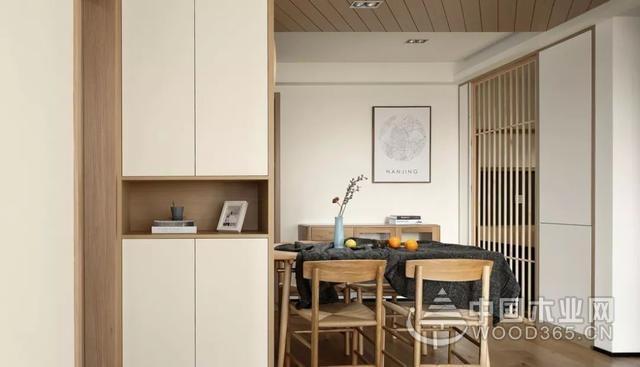 110平日式风格装修效果图,三室两厅清新极简