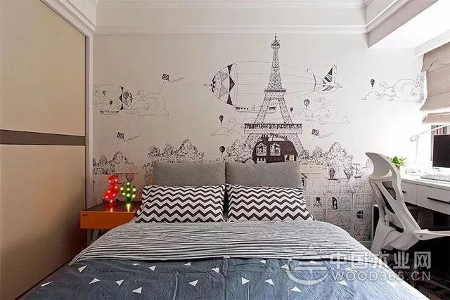 20卧室壁纸装修效果图,整个卧室都变得不一样啦