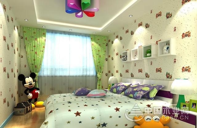 儿童房间布置效果图图片