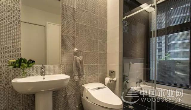 卫生间马赛克墙砖装修效果图