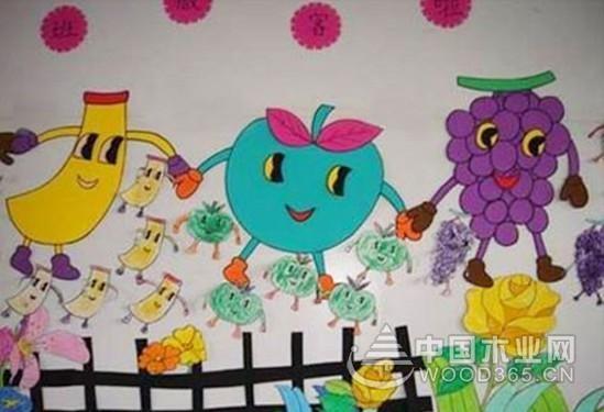 幼儿园墙面布置图片